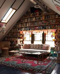 library home office renovation. an attic converted into a lofty home library office renovation i