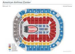 Ohio State Football Stadium Seating Chart Seating Maps American Airlines Center