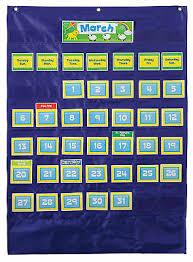 Teacher Pocket Chart Custom Calendar Pocket Chart Teacher Classroom English