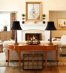 sofa table in living room. Inspiration For A Timeless Medium Tone Wood Floor Family Room Remodel In  Philadelphia With Beige Walls Sofa Table Living I