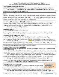 Mla Citation Guide Works Cited And In Text Citations Mla8