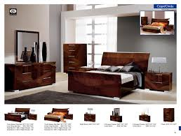 Walnut Living Room Furniture Esf Furniture Capri Queen Sleigh Bed In Walnut