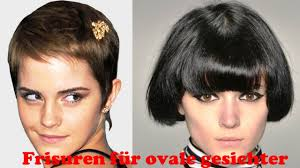 Frisuren F R Ovale Gesichter Youtube