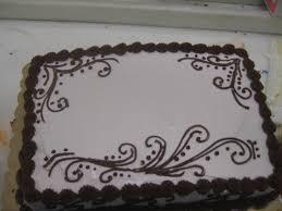 chocolate on white henna design 3 1 2 sheet cake