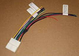 amazon com 20 pin subaru nissan headunit radio wiring harness image unavailable