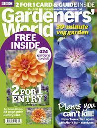 bbc gardeners world s may issue