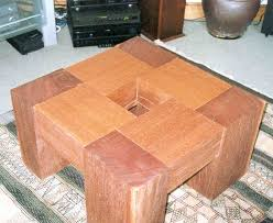 matt s azobe railway sleeper coffee table