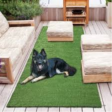 sweet home meadowland indoor outdoor green artificial grass turf area and runner rug 550507225
