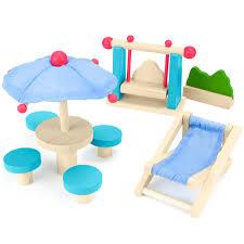 dollhouse furniture cheap. Playful Patio Doll House Furniture Set Dollhouse Cheap