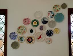 Plates Wall Decor 17 Best Images About Redecorating Ideas On Pinterest Plate Wall