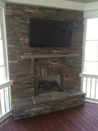 screened in porch with fireplace. The Popularity Of Porch Fireplaces Screened In With Fireplace