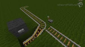minecarts and railways minecraft  2 way minecart station