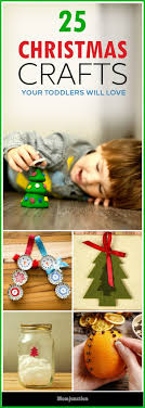 10 Easy Christmas Crafts For Kids  Happy HooligansChristmas Crafts Toddlers