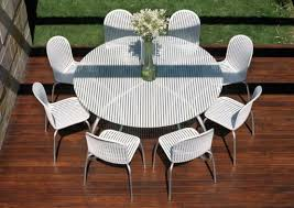 round patio dining table enjoy to fullest outdoor furniture round sets white white