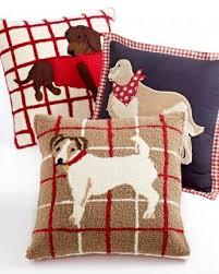 Martha Stewart Decorative Dog Pillows