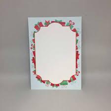 Christmas Presents Holiday Flat Card Invitation 5 X 7 10 Pack