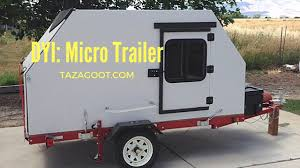 Small Picture Ultra Lite Tiny Camping Trailer Camping Pod YouTube