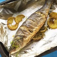 delicious whole roasted sea b