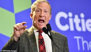 Tom Steyer With Tests Waters Presidential Halls The Billionaire Town aqRwda