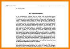 autobiography essays examples metaphor essays self help is the autobiography essays examples