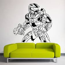 halo 4 master chief vinyl wall art decal
