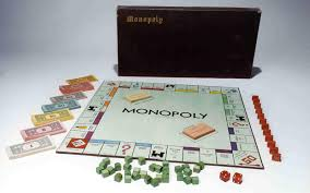 a monopoly board game from 1936