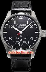 Швейцарские наручные <b>часы Alpina AL</b>-<b>280B4S6</b> AVIATION ...