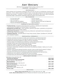 Example Of Accountant Resume – Resume Example Collection