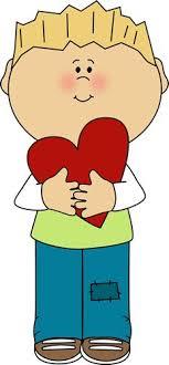 valentine s day clip art for kids. Plain Art Boy Holding Red Valentine Heart Clip Art   Image Valentines Day On S For Kids I