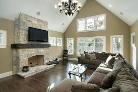 tv mounted over fireplace mounting a over a stone or brick fireplace wall mounted tv above