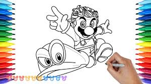 15 New Mario Odyssey Coloring Pages Karen Coloring Page