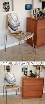 decoupage ideas for furniture. Check Out This IKEA Hack! Marble A Vilmar Chair With Mod Podge! Decoupage Ideas For Furniture E