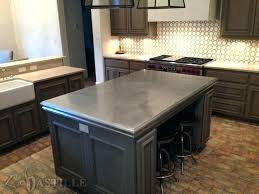 galvanized steel mesmerizing metal kitchen top where to countertops trim for counters capital sheet metal kitchen tiles countertops