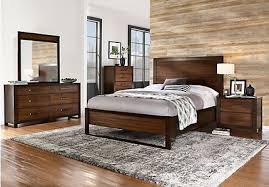 Abbott Hazelnut 5 Pc Queen Panel Bedroom