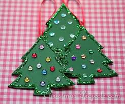Adorable Christmas Tree Ornaments Even Kids Can Make Christmas Christmas Tree Ornament Crafts
