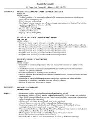 Dispatch Operator Sample Resume Dispatch Operator Resume Samples Velvet Jobs 24