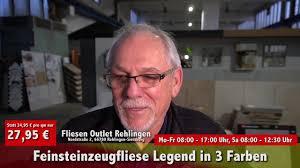 Fliesen Outlet - Angebot des Monats Legend - YouTube