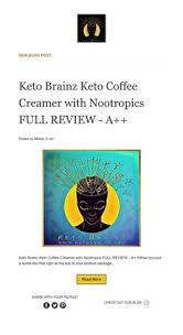 Introducing the first electrolyte for your coffee. Keto Brainz Ketobrainz Profile Pinterest