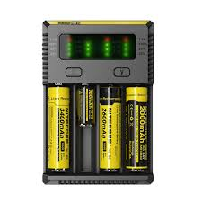 18650 Battery Charger · Larger Photo Email A Friend Nitecore i4 Intellicharger - 4 Bay | Store