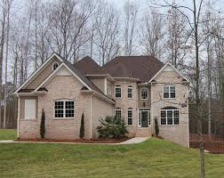 This version of the Summerlyn is an all brick house with full, finished  basement.