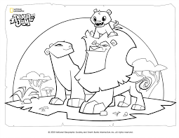 Animal Jam Coloring Page Lion Family By Digiponythedigimon On Deviantart