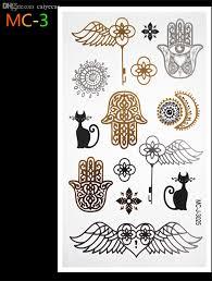 оптово будда индия фараон Diy боди арт флэш золото татуировки ювелирные изделия
