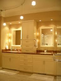 modern bathroom lighting luxury design. fine design luxury modern bathroom lighting with sparkling minimalist cube pendat  lamp and bright white wall mirror for design d