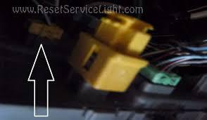 reset srs airbag light acura tl