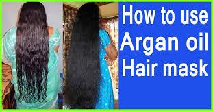 how to use argan oil for hair growth