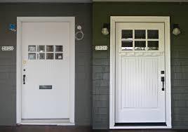 white craftsman front door. White Craftsman Style Front Doors Door B