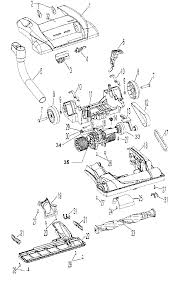 hoover windtunnel upright vacuum parts diagram evacuum electrical parts diagram hoover windtunnel ultra control cable