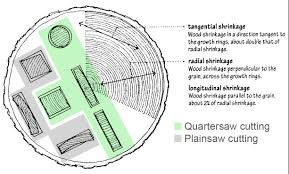 Wood Shrinkage Chart Image Result For Tangential Or Radial Shrinkage Wood