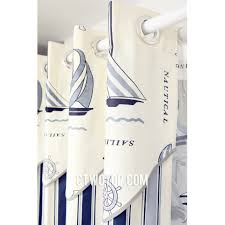 Nautical Bedroom Curtains Nautical Shower Curtains For Kids Free Image