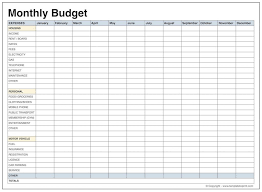 Personal Budget Spreadsheet Free For Mac Template Simple